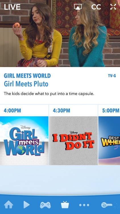Disney Channel – Watch Full Episodes, Movies & TV screenshot-3