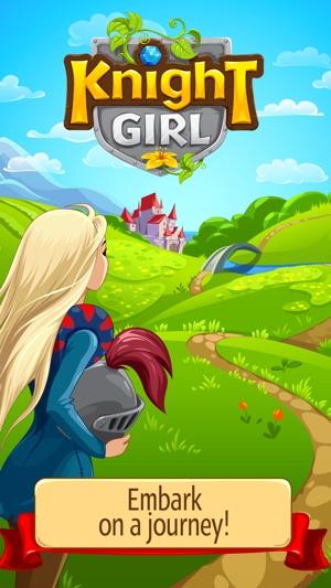 Knight Girl - Match 3 Puzzle Screenshot