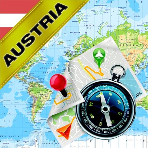 Austria - Offline Map & GPS Navigator