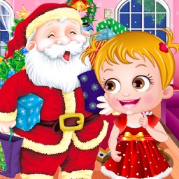 Cute Baby Christmas Fun