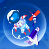 Daniel Shneor - Spaceman Bubble Float - PRO - out of this world pop shooter artwork