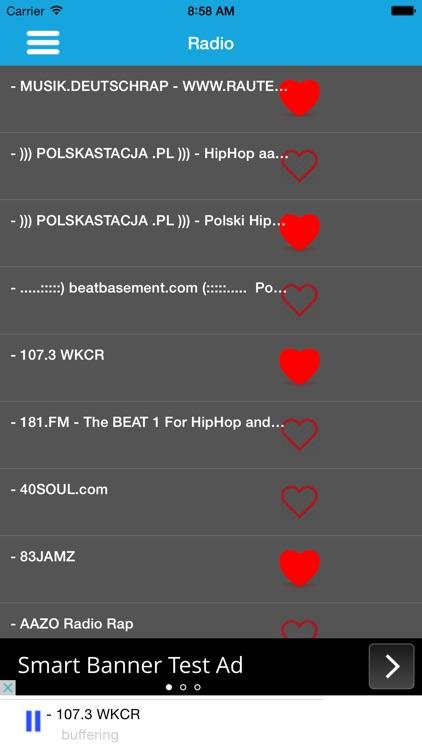 Rap Metal Music Radio With Trending News