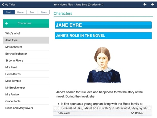 Jane Eyre York Notes For Gcse 9 1 For Ipad App Price Drops