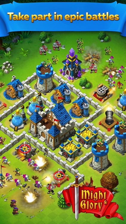 Might and Glory: Kingdom War screenshot-0