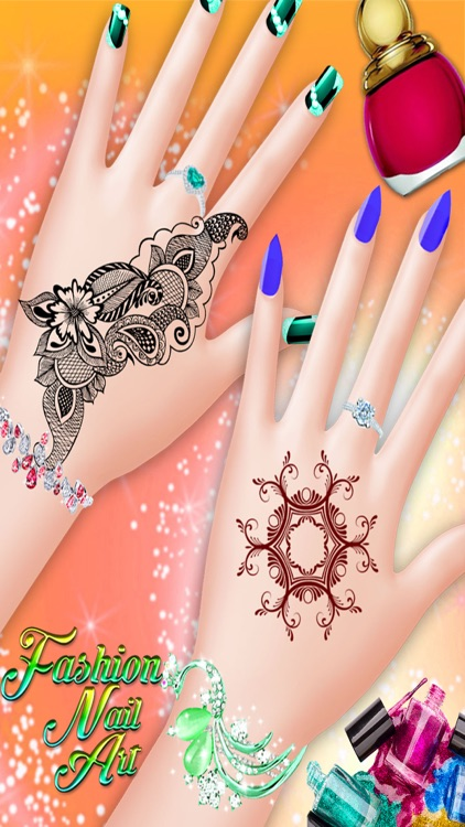 Fashion Nail Art Manicure Beauty Salon Game For Kids Teens And