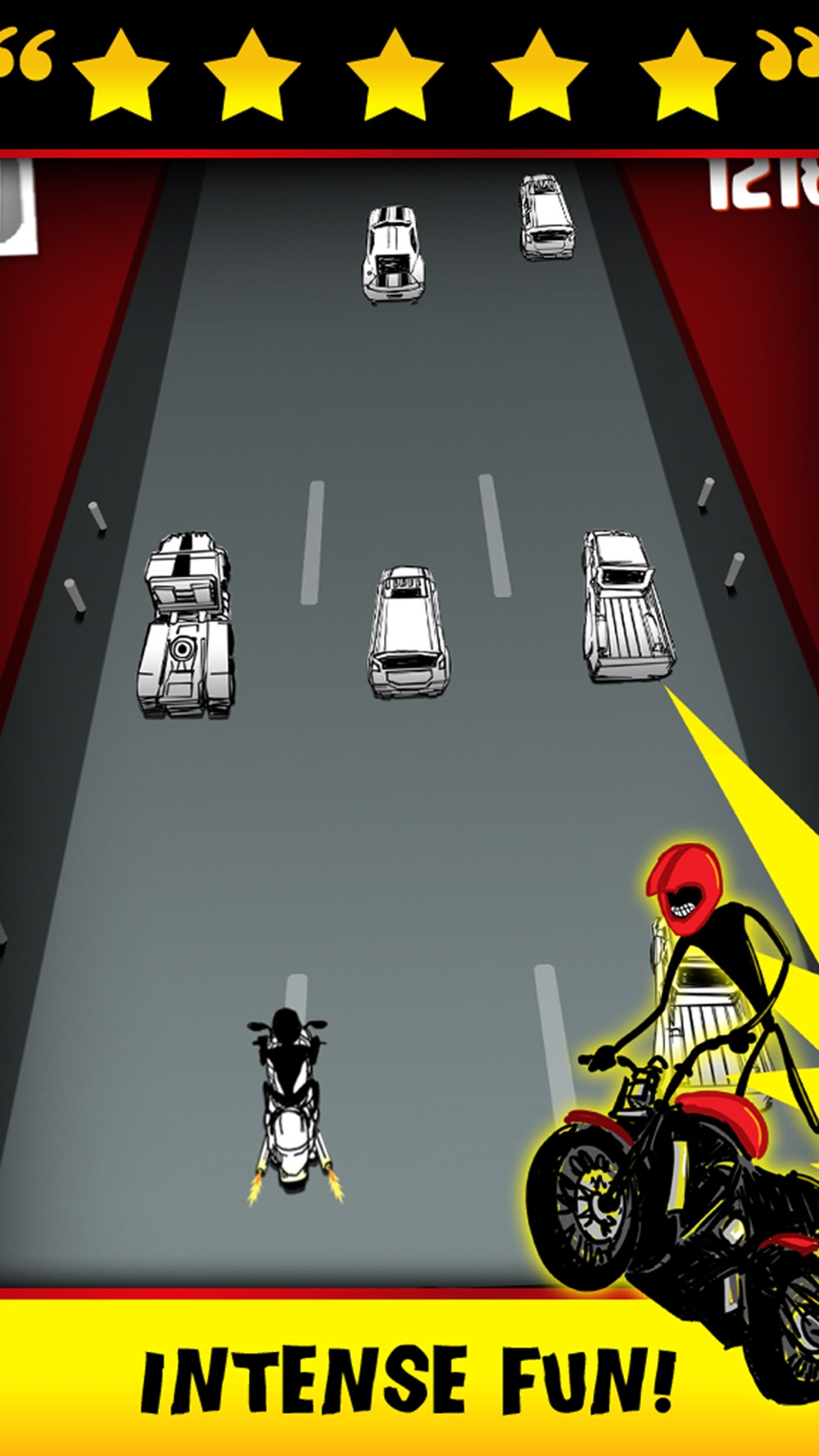 Stickman Street Bike Motorcycle Highway Race - FREE Multiplayer Racing Game hack tool