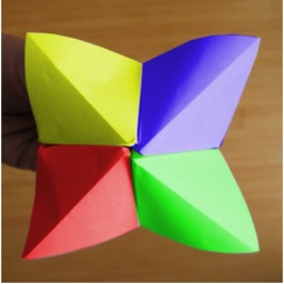 how to make a chatterbox fortune teller