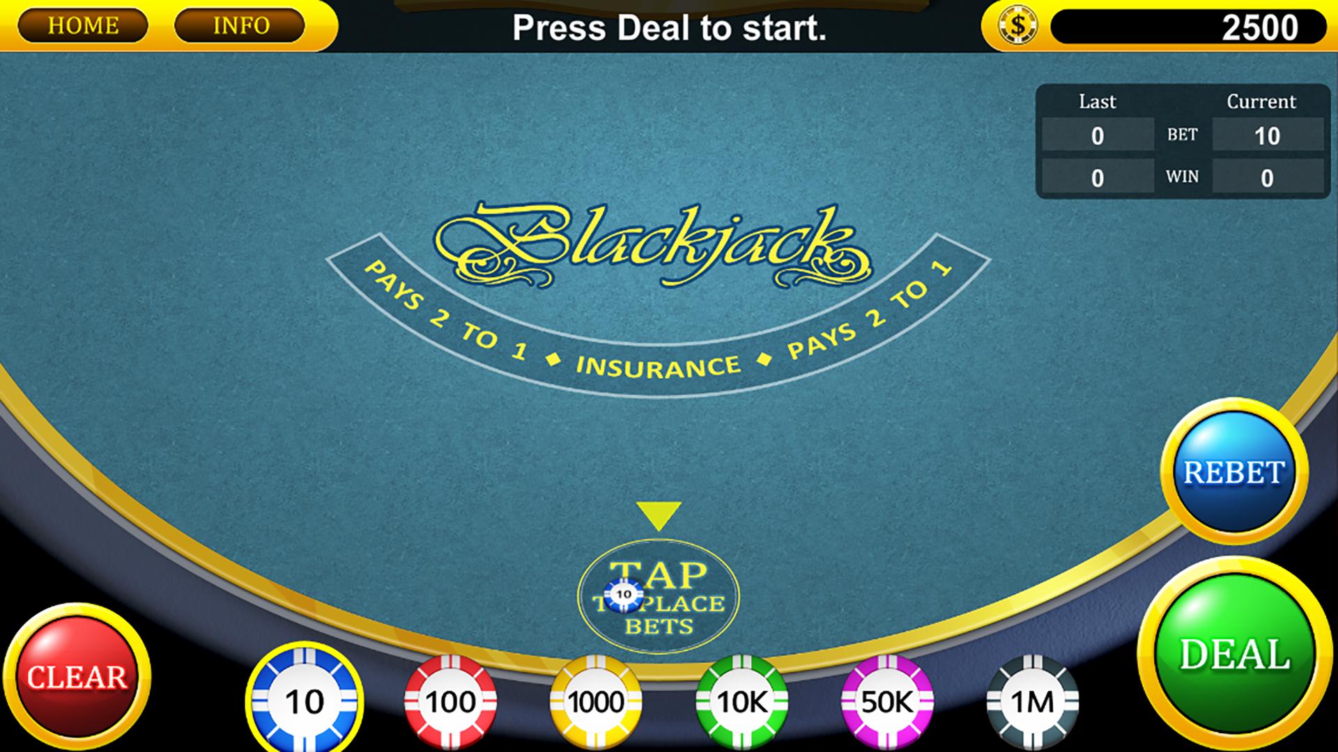 Blackjack Casino TV screenshot 2