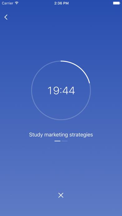 FocusList: Focus timer and daily planner Screenshot 2
