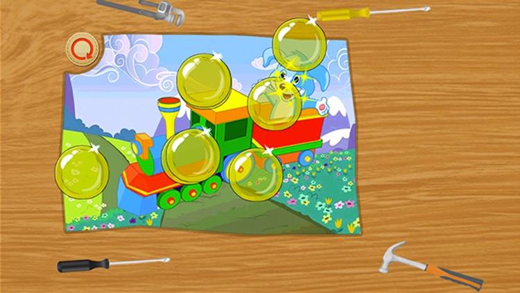 Baby Puzzles: Train screenshot-3