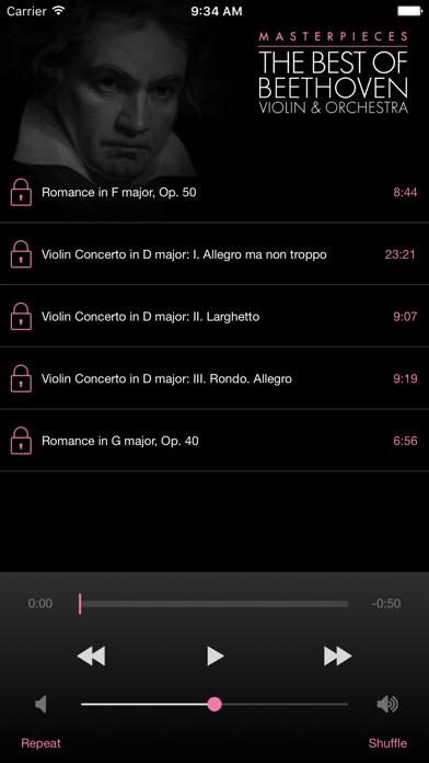 Beethoven: Violin&Orchestra screenshot three