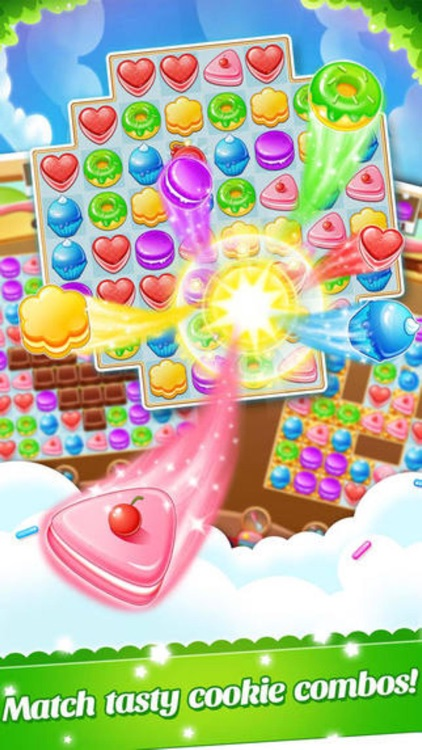 Candy Cake Smash - funny 3 match puzzle blast game screenshot-3