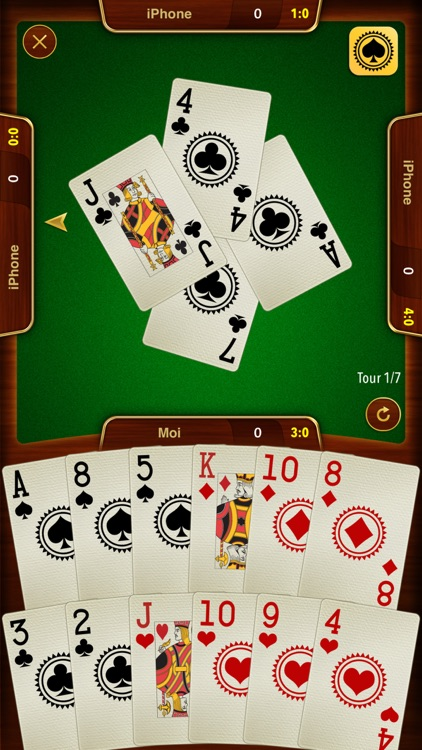 Batak - classic trick-taking card game like Spades