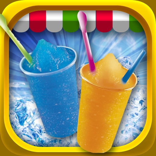 Dessert Slushy Maker Food Cooking Game - make candy drink for ice cream soda making salon! iOS App