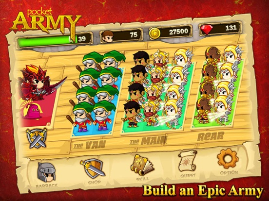 Screenshot #2 for Pocket Army