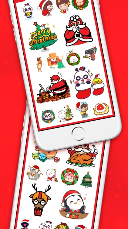 ChristMoji - Christmas Gifs Stickers for iMessage screenshot-3