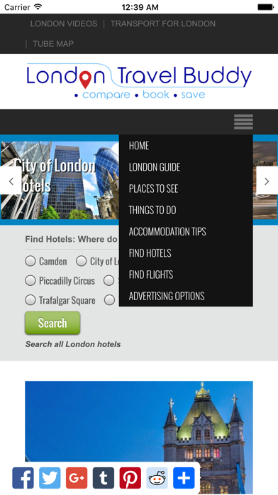 London Travel Buddy screenshot three