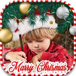 christmas decorations camera stickers photo editor 4
