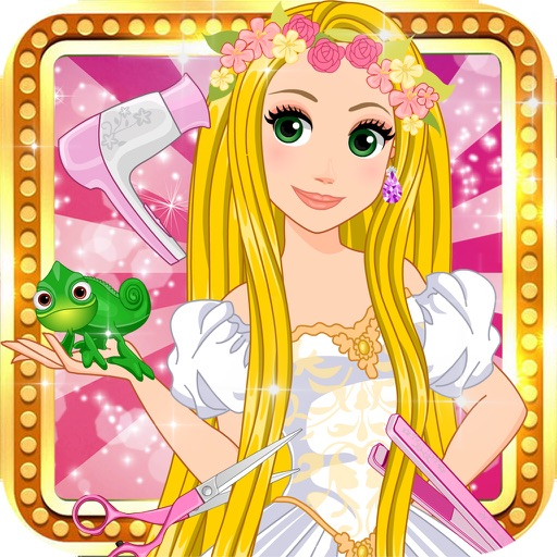 Princess Fashion Hairstyle Princess Puzzle Dressup Salon Baby Girls Games By Child Games