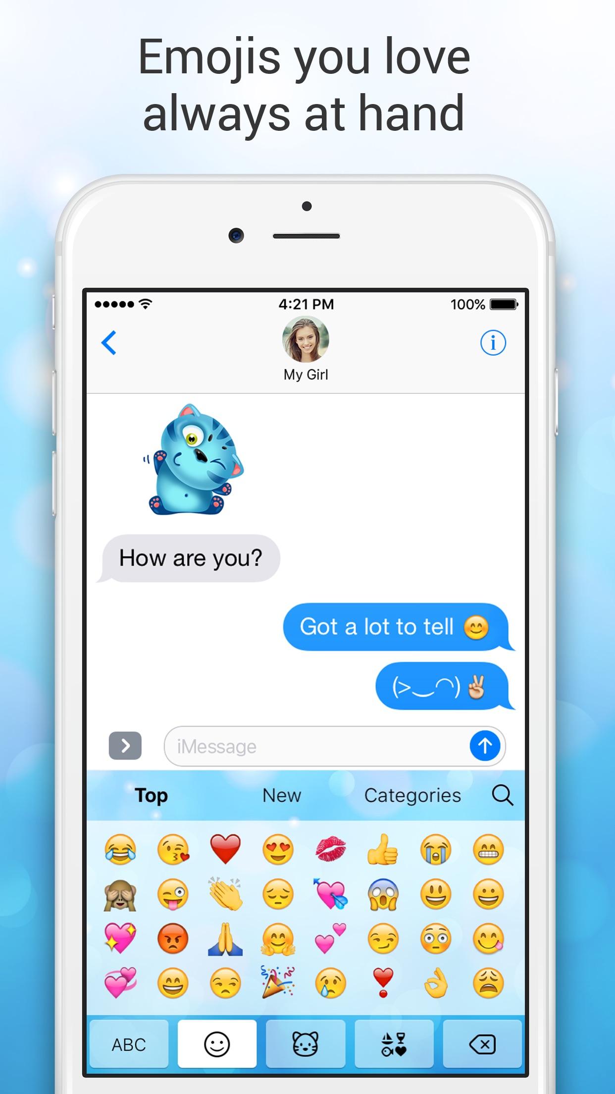 Emoji Keyboard for Me - Free Emoji Keyboard Themes Screenshot