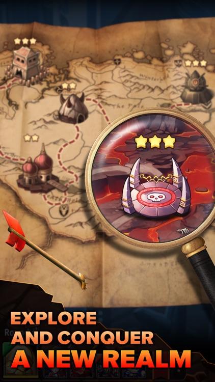 Heroes Tactics : PvP Strategy Game screenshot-4