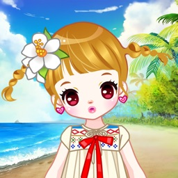 Beach Girl - Sweet Baby Dress Up Salon for Kids
