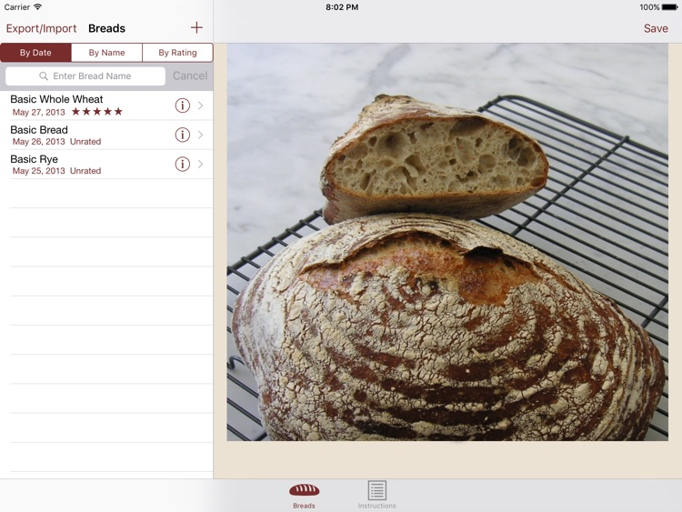 Artisan Bread for  iPad