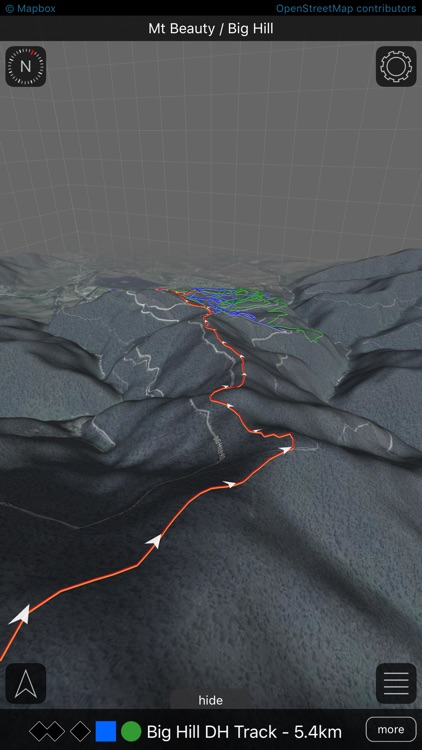 Roam MTB | 3D mountain bike trail maps screenshot-1