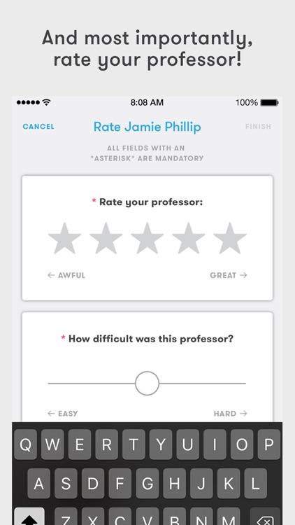 Rate My Professors – Find the Right Professor screenshot-4