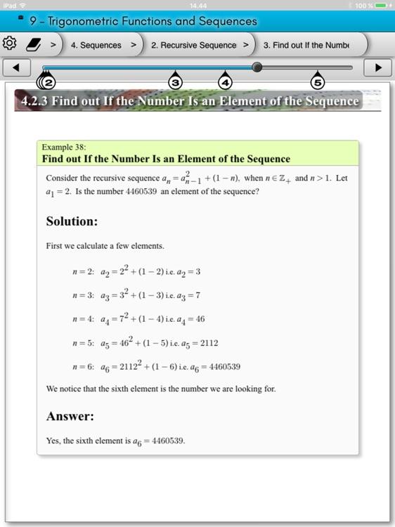 eMath2: Polynomials screenshot-3