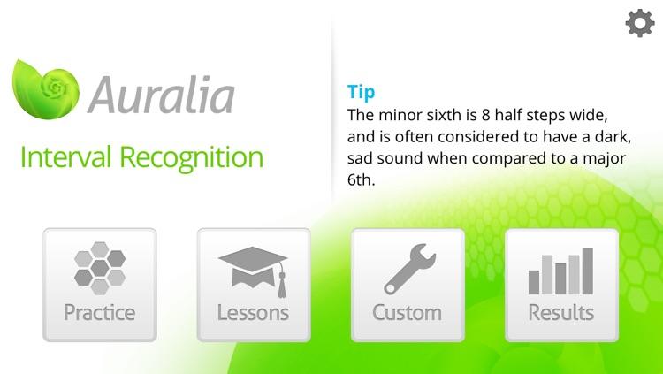 Auralia Interval Recognition