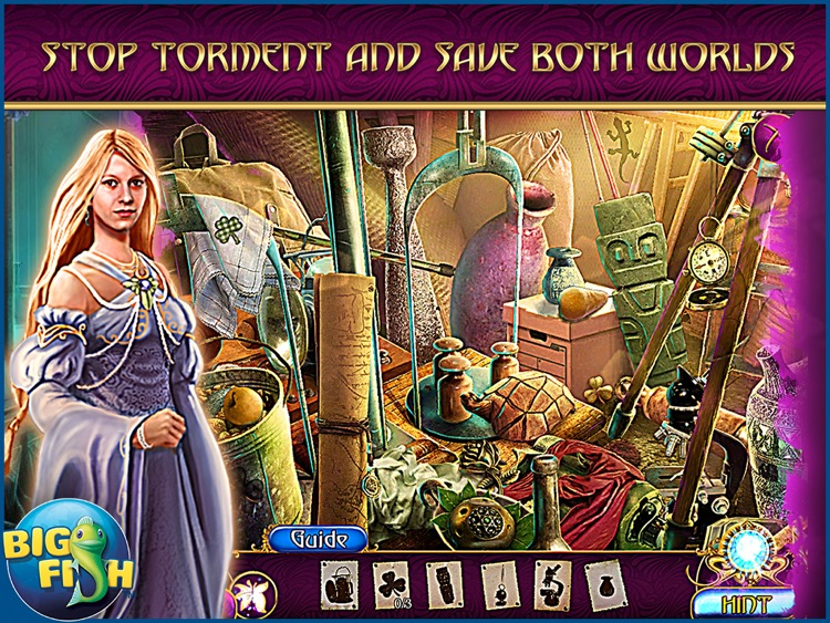 Amaranthine Voyage: The Shadow of Torment HD - A Magical Hidden Object Adventure (Full) screenshot-1