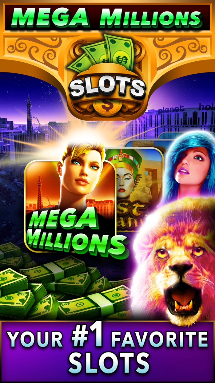 Mega Millions Casino - Real Vegas Slots - Play Royal Slot Machine Games in the Red Rock Valley! Screenshot