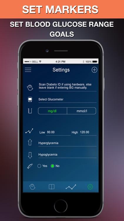 Diabeto - Free Diabetes Management App screenshot-4