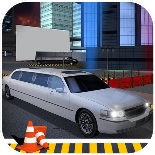 Garage Limousine Parking : 3D Free Par-King Game-s