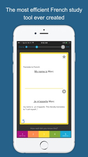 Learn french asap on the app store screenshots solutioingenieria Images