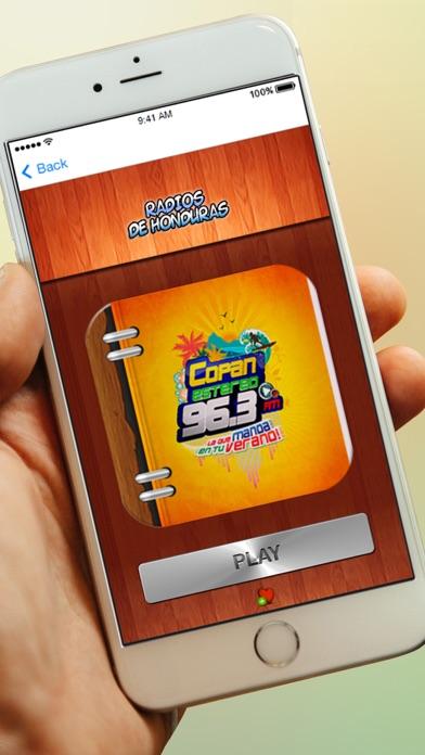 Radios de Honduras y Emisoras Gratis AM FM screenshot four
