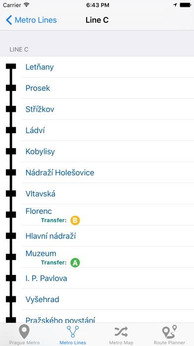 Prague Metro Screenshot 5