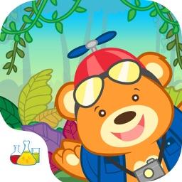 Nano Bear Rainforest Animals Educational Kids App