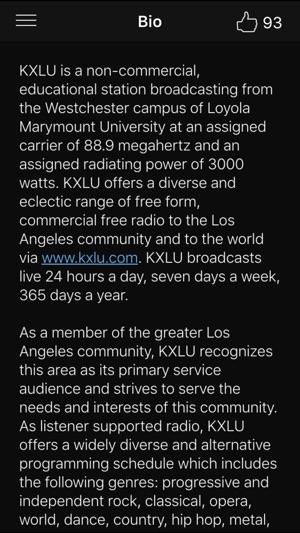 KXLU 88 9FM on the App Store
