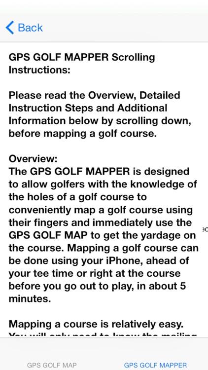 GPS Golf Map screenshot-3