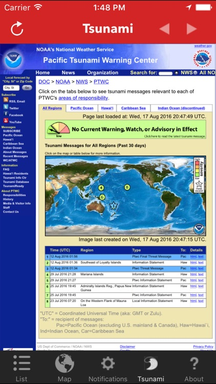 Earthquake - worldwide coverage of natural disasters screenshot-4