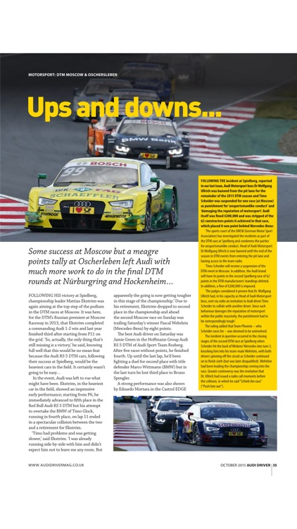 Audi Driver Magazine screenshot-3