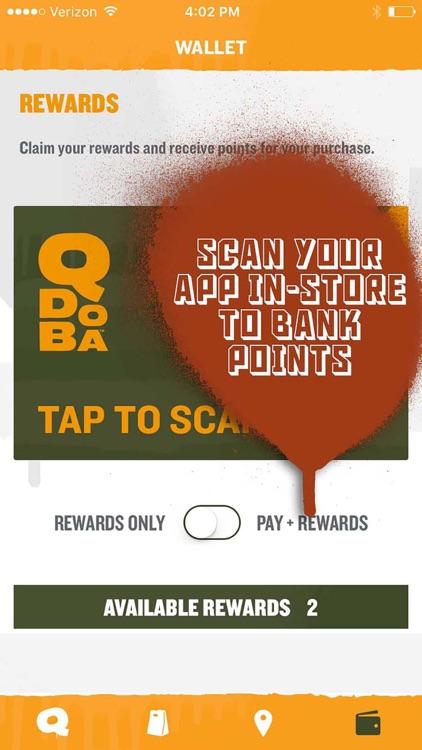 QDOBA Rewards & Online Ordering screenshot-3