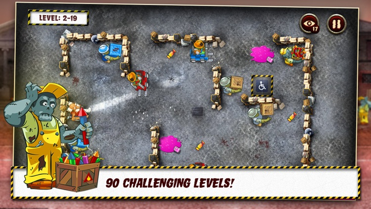 Grandpa and the Zombies - Take care of your brain! screenshot-2