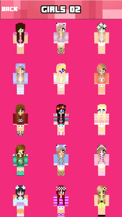 GIRL SKINS FREE - Best Girls Skin For Minecraft PE screenshot-3