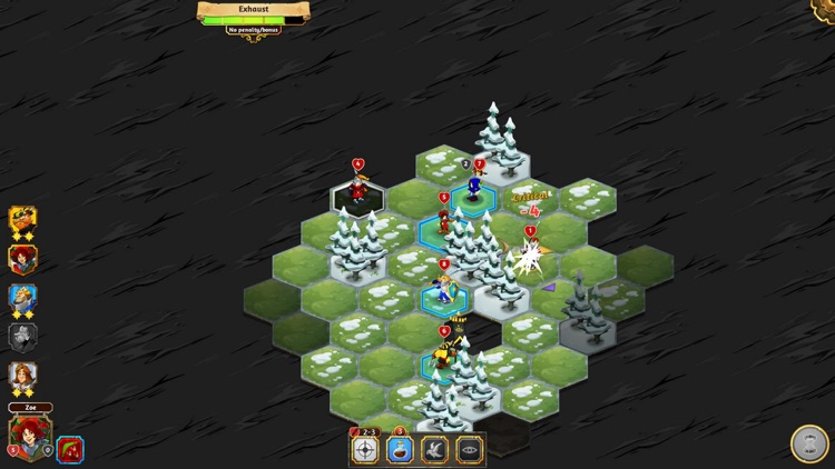 Crowntakers - The Ultimate Strategy RPG screenshot-4