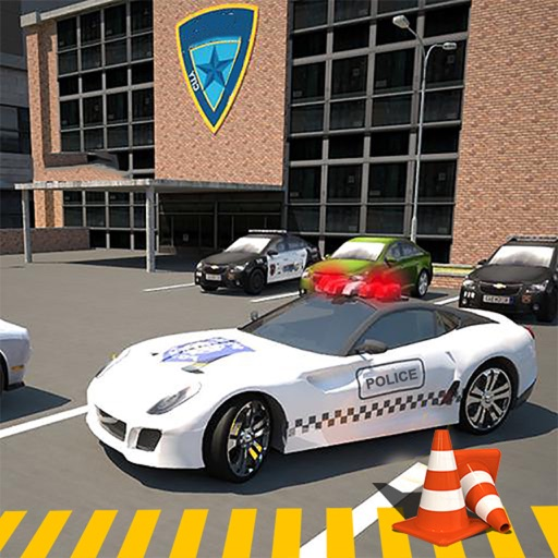 Epic Police High-way Car : Real Stunt Par-king 3D