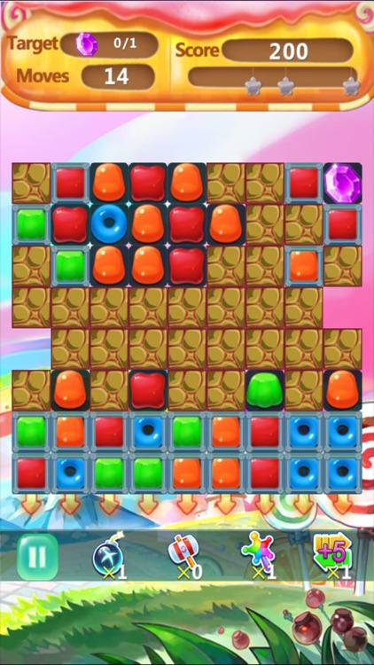 Candy Mania Jelly Blast-match 3 puzzle crush free game screenshot-3