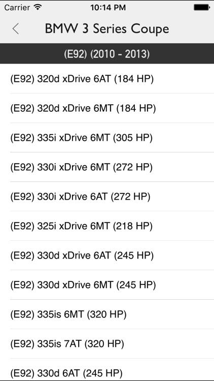 Car Specs Pro screenshot-3